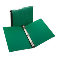 Avery 14802 Green Hanging Storage Non-View Binder with 1 inch Round Rings