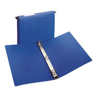 Avery 14800 Blue Hanging Storage Non-View Binder with 1 inch Round Rings