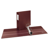 Avery 21004 Maroon Heavy-Duty Non-View Binder with 3 inch One Touch EZD Rings and Spine Label Holder