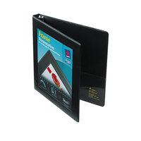 Avery 68050 Black Heavy-Duty Framed View Binder with 1/2 inch Locking One Touch Slant Rings