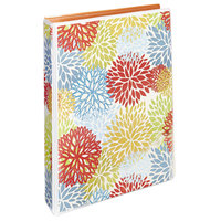 Avery 18447 Floral/Orange Mini Durable Non-View Style Binder with 1 inch Round Rings