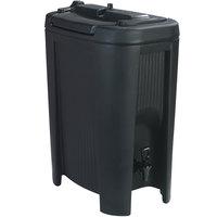 Carlisle XB503 Cateraide Slide N' Seal Black 5 Gallon Insulated Beverage Dispenser