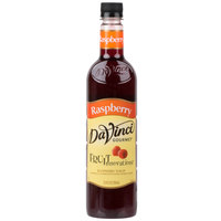 DaVinci Gourmet 750 mL Fruit Innovations Raspberry Cold Beverage Flavoring / Fruit Syrup