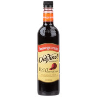 DaVinci Gourmet 750 mL Fruit Innovations Pomegranate Cold Beverage Flavoring / Fruit Syrup