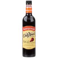 DaVinci Gourmet 750 mL Fruit Innovations Pomegranate Cold Beverage Flavoring / Fruit Syrup