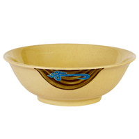 Thunder Group 5060J Wei 22 oz. Round Melamine Rimless Bowl - 12/Case