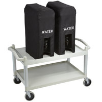 Cambro HYDRASTATIONPKG Hydration Station with Two 4.75 Gallon Insulated Beverage Dispensers