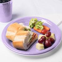 Creative Converting 28193031 10 inch Luscious Lavender Purple Plastic Plate - 20/Pack