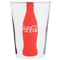 Dart Solo RNP16C-44045 Coke® 16-18 oz. Poly Paper Cold Cup   - 1000/Case