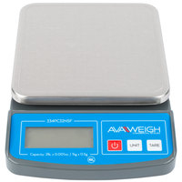 AvaWeigh PC32 2 lb. Digital Portion Control Scale