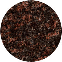 Art Marble Furniture G215 48 inch Round Tan Brown Granite Tabletop