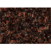 Art Marble Furniture G215 30 inch x 42 inch Tan Brown Granite Tabletop