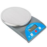 AvaWeigh PCR10 10 lb. Round Digital Portion Control Scale