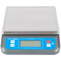AvaWeigh PCOS10NSF 10 lb. Digital Portion Control Scale
