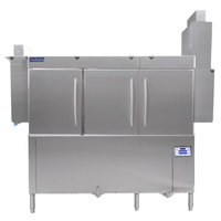 Jackson RackStar 66 Single Tank High Temperature Conveyor Dish Machine with Energy Recovery - Left to Right - 230V, 1 Phase