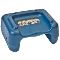 Koala Kare KB855-04 Blue Plastic Booster Seat - Dual Height - 4/Pack
