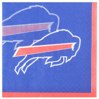 Creative Converting 659504 Buffalo Bills 2-Ply Beverage Napkin - 192/Case