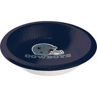 Creative Converting 179509 Dallas Cowboys 20 oz. Paper Bowl - 96/Case