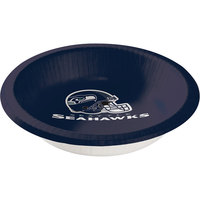 Creative Converting 179528 Seattle Seahawks 20 oz. Paper Bowl - 96/Case