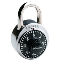 Master Lock 1500D 1 7/8 inch Stainless Steel Combination Lock