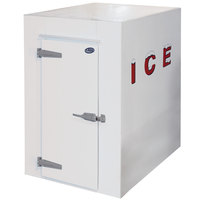 Leer 4X8AD 4' x 8' Auto Defrost Low Temperature Refrigerated Ice Transport