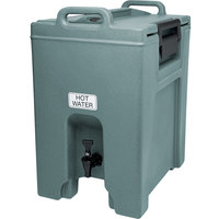 Cambro UC1000401 Ultra Camtainers® 10.5 Gallon Slate Blue Insulated Beverage Dispenser