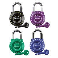 Master Lock 1590D 1 7/8 inch Stainless Steel Assorted Set-Your-Own Combination Lock