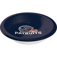 Creative Converting 179519 New England Patriots 20 oz. Paper Bowl - 96/Case