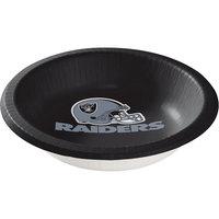 Creative Converting 179523 Oakland Raiders 20 oz. Paper Bowl - 96/Case