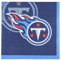 Creative Converting 659531 Tennessee Titans 2-Ply Beverage Napkin - 192/Case