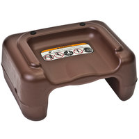 Koala Kare KB855-09 Brown Plastic Booster Seat - Dual Height - 4/Pack