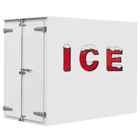 Leer 5X9AD 5' x 9' Auto Defrost Refrigerated Ice Transport