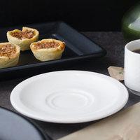 Villeroy & Boch 16-2155-1460 Easy White 5 inch White Porcelain Saucer - 6/Case