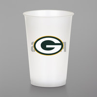 Creative Converting 019512 Green Bay Packers 20 oz. Plastic Cup - 96/Case