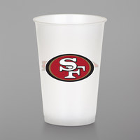Creative Converting 019527 San Francisco 49ers 20 oz. Plastic Cup - 96/Case