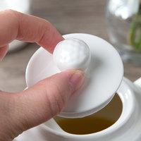 Villeroy & Boch 16-2155-0950 Easy White 2 inch White Porcelain Teapot Lid - 6/Pack