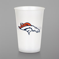 Creative Converting 019510 Denver Broncos 20 oz. Plastic Cup - 96/Case