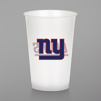 Creative Converting 019521 New York Giants 20 oz. Plastic Cup - 96/Case