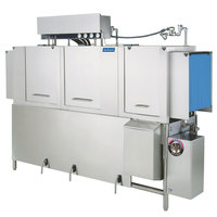 Jackson AJ-86 Dual Tank High Temperature Conveyor Dishmachine with Gas Tank Heater - Right to Left, 208V, 1 Phase