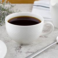 Villeroy & Boch 16-2155-1270 Easy White 7.5 oz. White Porcelain Cup - 6/Case