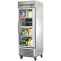 True TS-23G-HC~FGD01 27 inch Glass Door Reach-In Refrigerator
