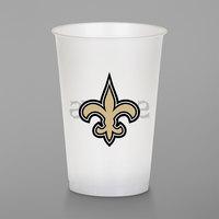 Creative Converting 335905 New Orleans Saints 20 oz. Plastic Cup - 96/Case