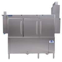 Jackson RackStar 66 Single Tank Low Temperature Conveyor Dish Machine with Energy Recovery - Left to Right - 208V, 3 Phase
