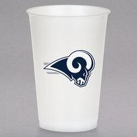 Creative Converting 335903 Los Angeles Rams 20 oz. Plastic Cup - 96/Case