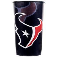 Creative Converting 119513 Houston Texans 22 oz. Plastic Souvenir Cup - 20/Case