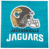 Creative Converting 669515 Jacksonville Jaguars 2-Ply Luncheon Napkin - 192/Case