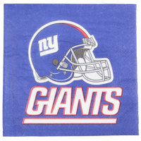 Creative Converting 669521 New York Giants 2-Ply Luncheon Napkin - 192/Case