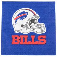Creative Converting 669504 Buffalo Bills 2-Ply Luncheon Napkin - 192/Case