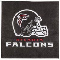Creative Converting 669502 Atlanta Falcons 2-Ply Luncheon Napkin - 192/Case