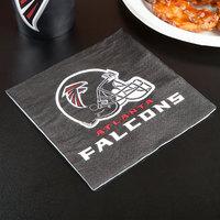 Creative Converting 669502 Atlanta Falcons 2-Ply Luncheon Napkin - 192/Case